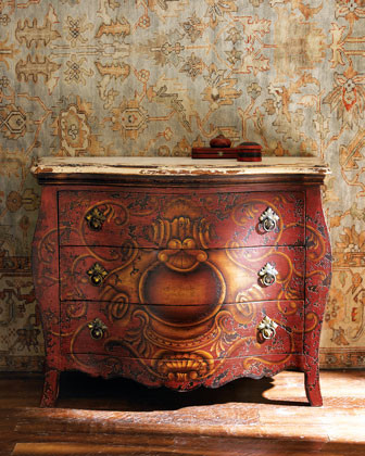 Crimson Emblem Chest traditional dressers chests and bedroom armoires