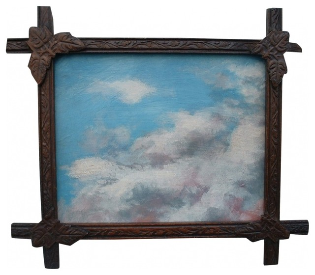 Cloud Study Painting I traditional-artwork