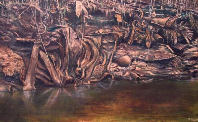 """Muddy Little Secrets 3"" Artwork contemporary-paintings"