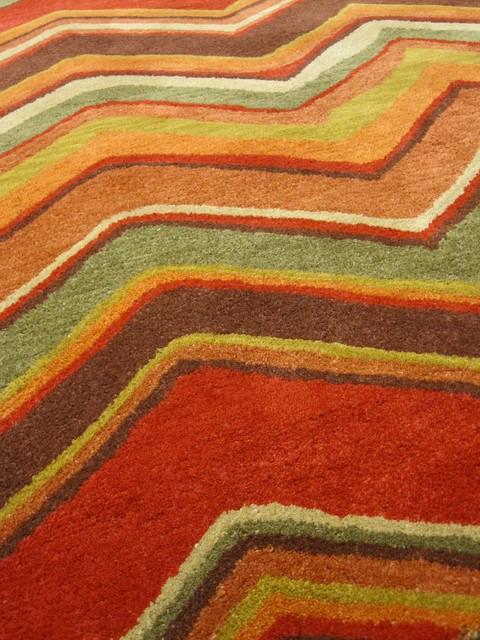 Rug: Zig Color: Velvet Red rugs