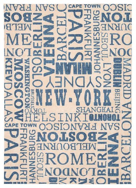 "Nourison Waverly Sun&Shade 7'9"" x 10'10"" Citrus Rug contemporary-rugs"