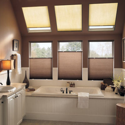 """Bali DiamondCell 3/8"""" Double Cell Light Filtering contemporary-cellular-shades"""