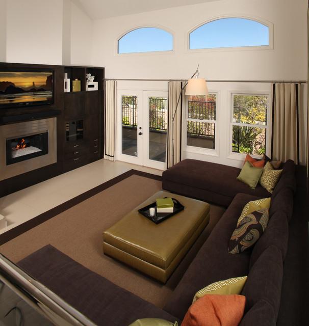 chic modern home modern living room los angeles