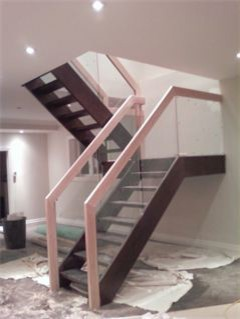 House Renovation modern-staircase