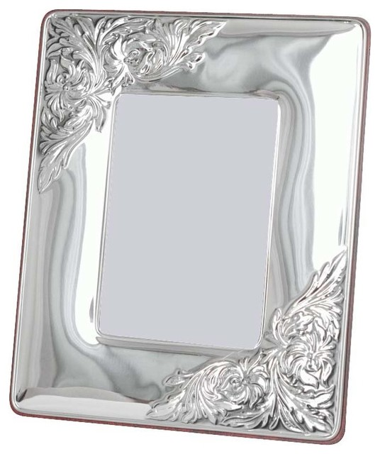 "8""x10"" Bijou Silver Sterling Frame contemporary-picture-frames"