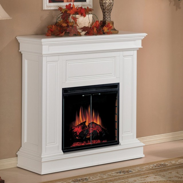 Classic Flame Phoenix Convertible Electric Fireplace White Modern Fireplaces By Hayneedle