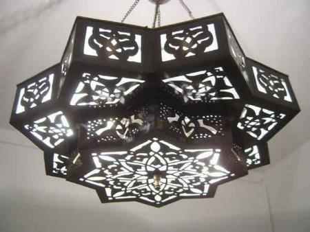 Moroccan Star Chandelier Lamp Mediterranean Ceiling
