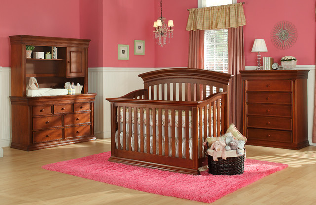 Legendary Curved Top Stationary Crib Traditional Cribs Other Metro By Baby 39 S Dream Furniture