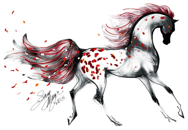 Stacey's Modern Horse Paintings & Equestrian Art Prints contemporary-artwork