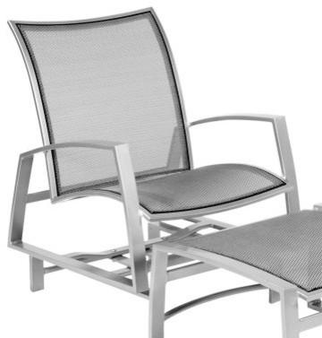Woodard Wyatt Flex Spring Lounge Chair modern-outdoor-chaise-lounges