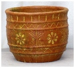 Mexican pot 07 - Outdoor Pots And Planters - phoenix - by ...