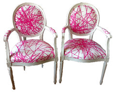 French Chairs eclectic-armchairs