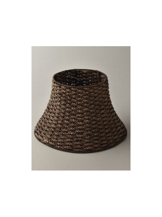 Horchow - Rattan Lamp Shade - Our Lamp Shade Collection If you need a quick pick-me-up for the room, change your lamp shade. Our lamp shade collection includes a wide variety of styles and colors, making it easy to perk up the lamps you already have, giving them—and your roo...