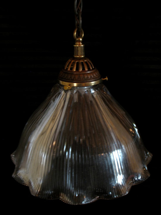 Genuine antique Holophane shade - KJ May