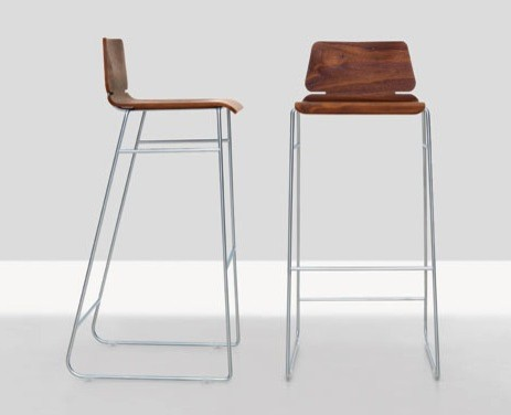 Form Bar Stool Modern Stools And Counter