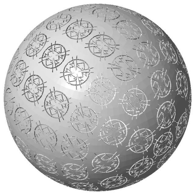 Globe Daaq asian-artwork