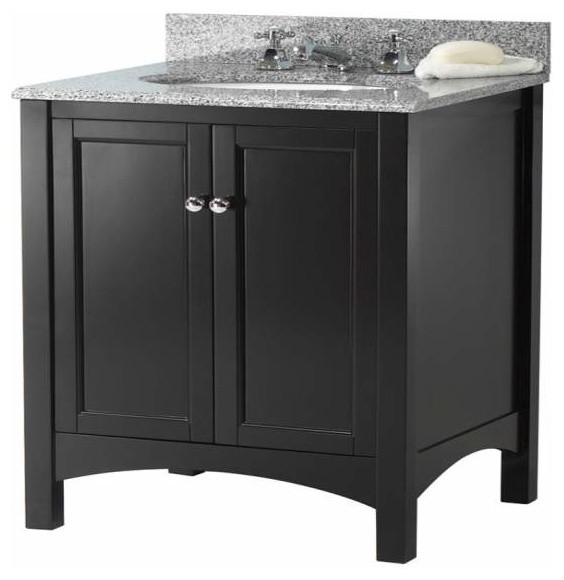 Foremost Haven 24 Inch Vanity In Espresso Finish Bathroom Vanities And Sink Consoles By Knobdeco
