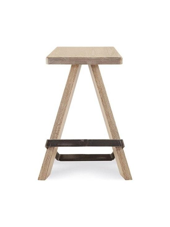 Saloom Furniture - Saloom Furniture | Biped Stool - Design by Peter Francis.
