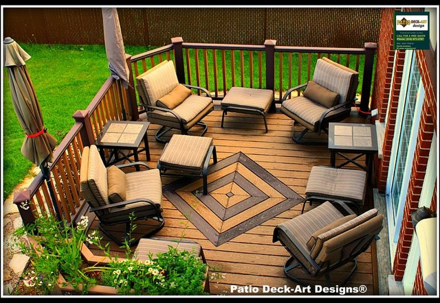 PATIO DECK-ART DESIGNS OUTDOOR LIVING contemporary-patio