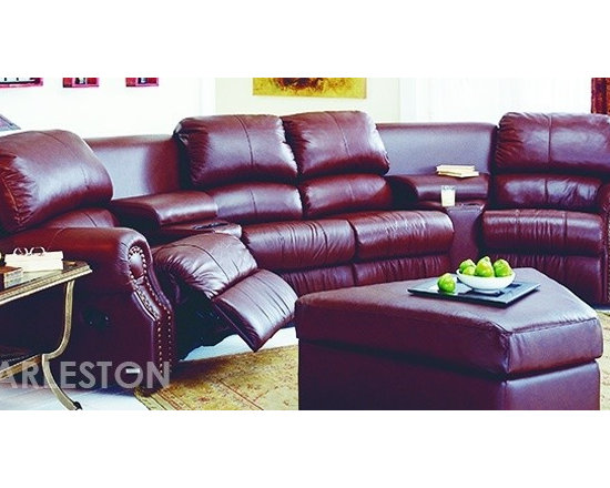 Palliser Charleston Home Theater Sofa Sectional -