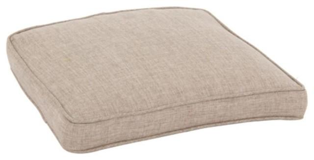 Hampton Bay Cushions Walnut Creek Wheat Replacement Outdoor Dining Chair Co