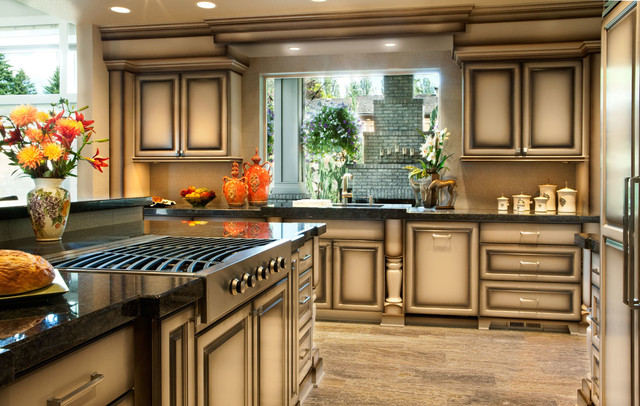 Brentwood - Street of Dreams traditional-kitchen-countertops