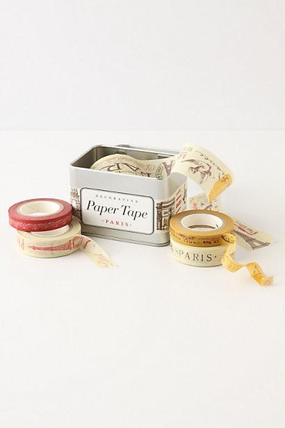 Paris Paper Tape contemporary-desk-accessories