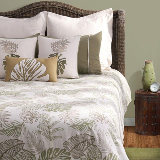 Rizzy Home Trinidad 9 Piece Bedding Set contemporary-bed-pillows