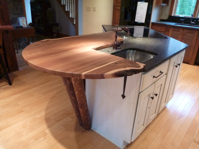 Rustic Kitchen Canton Ct Rustic New York By D E