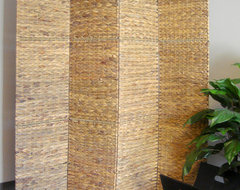 Jarkarta Folding Screen Room Divider tropical screens and wall dividers
