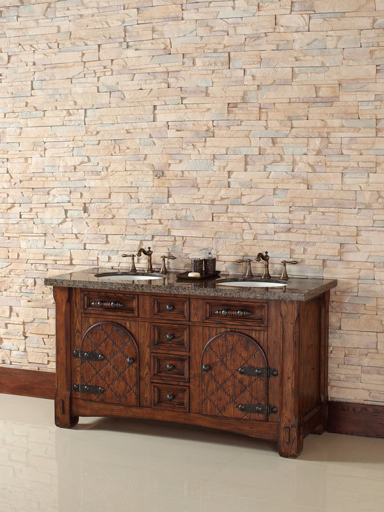"""James Martin 60"""" Marrakesh Double Solid Wood Bathroom Vanity 450-V60D-RAM - James Martin 60"""" Marrakesh Double Solid Wood Bathroom Vanity 450-V60D-RAM from the NEW collection - See more at: http://www.homethangs.com/bathroom-vanities/james-martin/p/james-martin-450v60dram.html#sthash.jyW9fS0a.dpuf"""