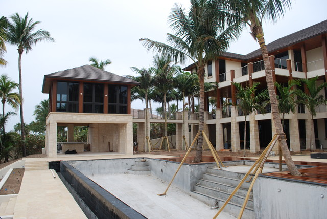 Private Residence Beginning Install Manalapan, FL contemporary