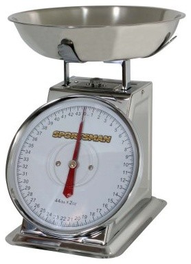 Sportsman 44 lb. Stainless Steel Dial Scale modern-small-kitchen-appliances