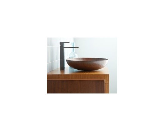 Maestro Sonata In Antique - Maestro Sonata In Antique - In either Antique, tempered or Brushed Nickel, the Maestro Sonata Vessel sink will be the highlight of any room. The low profile design brings out the craftsmanship of the artisans in the hand hammering of copper - a tradition passed down for generations. A perfect vessel sink for your remodel or new construction.