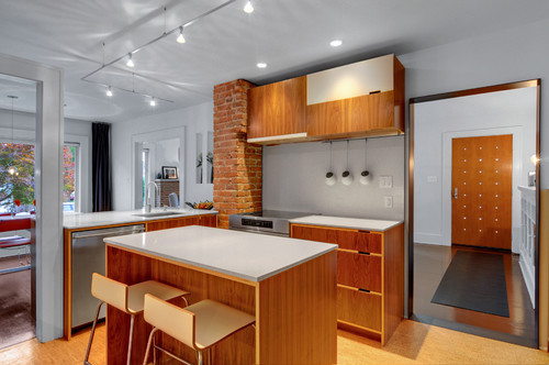 See how top architects remodeled their house contemporary kitchen