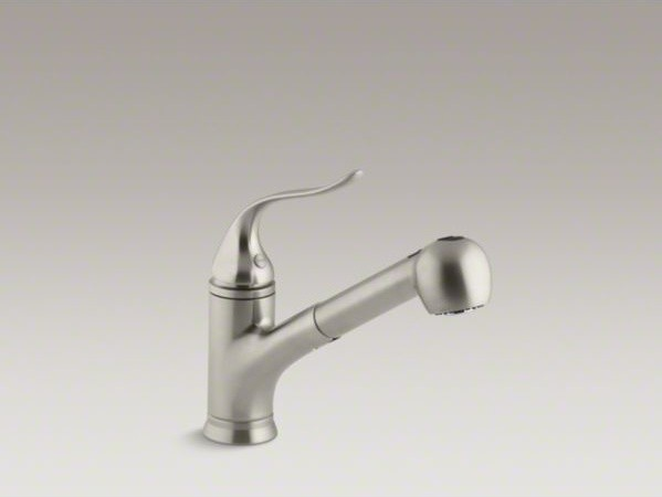 KOHLER Coralais(R) single-hole or three-hole kitchen sink faucet with ...