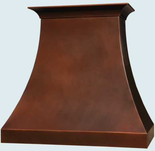 Copper Hood | Handcrafted Metal farmhouse-range-hoods-and-vents