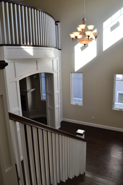 New Construction Home traditional-staircase