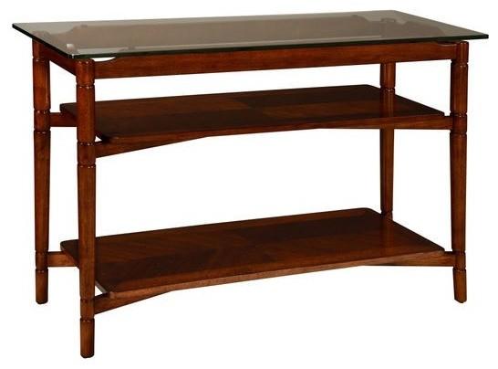 Bassett Mirror Kenbridge Console Table T2740 400t 400b