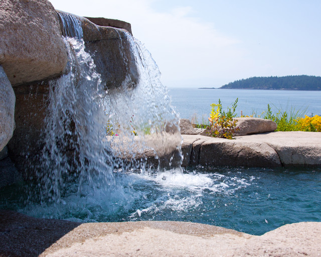 Water Feature - Natural Look eclectic-pool