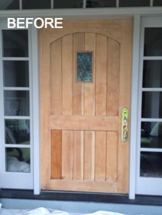 Repainting Exterior Front Doors