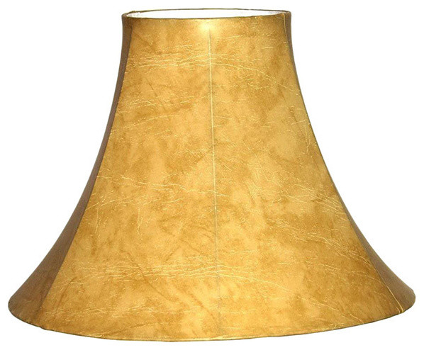 faux leather bell lamp shade contemporary lamp shades by. Black Bedroom Furniture Sets. Home Design Ideas