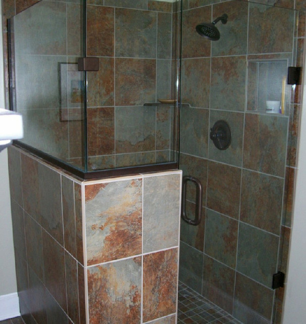Frameless glass shower doors enclosures for Showers without glass