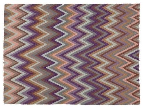 Chevron Indigo Rug contemporary-rugs