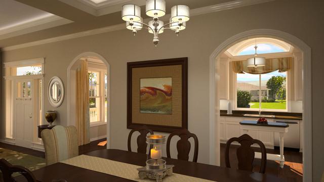 Interior 3D Renderings traditional