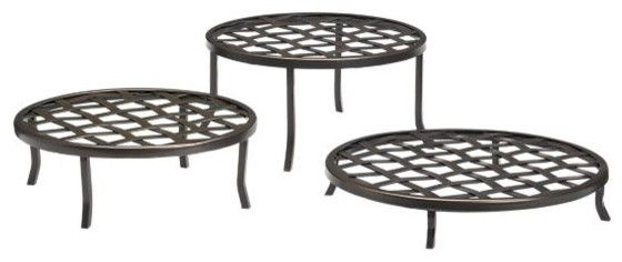 Tracery Plant Stands modern-outdoor-planters