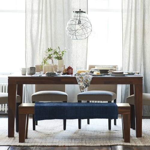26 Big Small Dining Room Sets With Bench Seating: When Is A Bench Appropriate For A Dining Room?