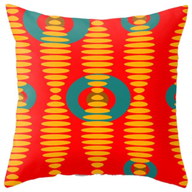Crash Pad Designs Throw Pillow- Abe contemporary-decorative-pillows