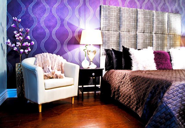 Master Bedroom Remodel-Modern Glamour Style modern-bedroom