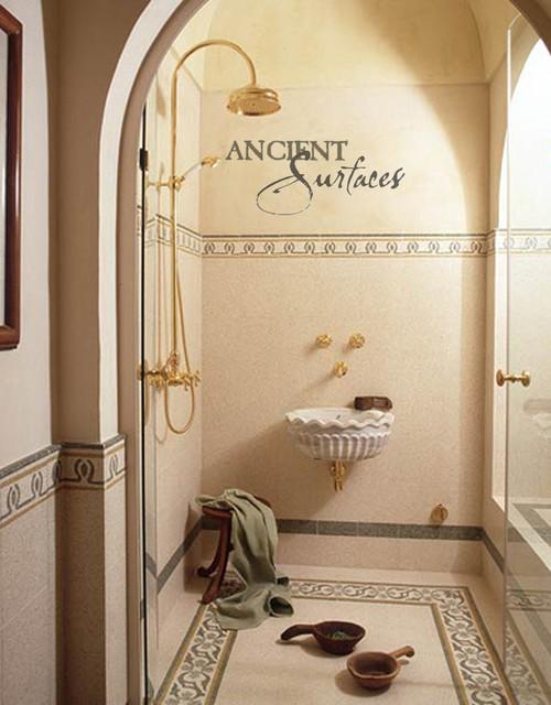Bathroom Sinks (Mediterranean Style) mediterranean-bathroom-sinks